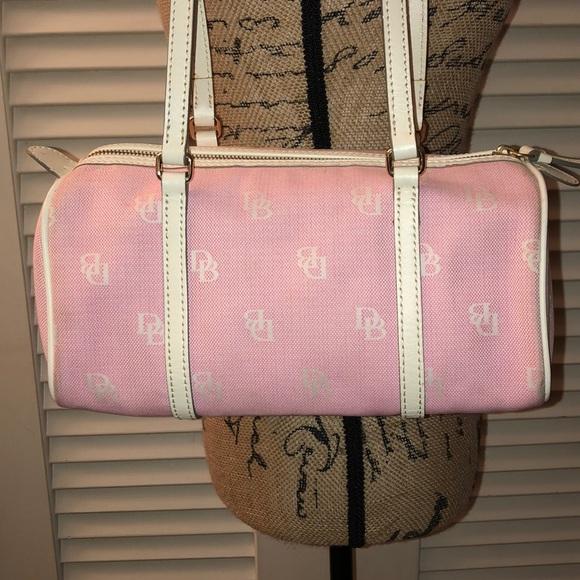 Dooney & Bourke Handbags - Dooney and Bourke Baby Pink Barrel Bag